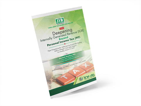 Deepening Internally Generated Revenue (IGR) Beyond Personal Income Tax (PIT)
