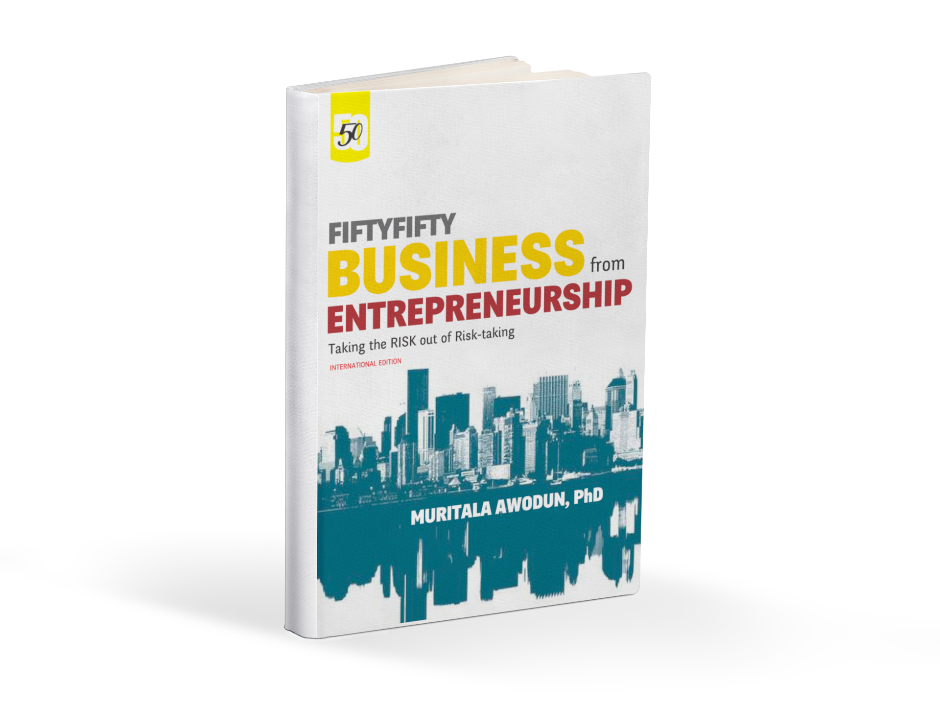 fifty-fifty business revised edition mockup